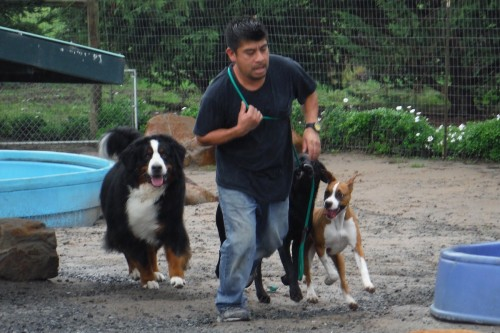 Margarito Sierra and friends. Photo &copy: Two Rock Dog Ranch